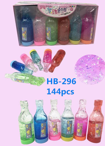 Picture of Glitter Crytal Slime Bottle 12 dz