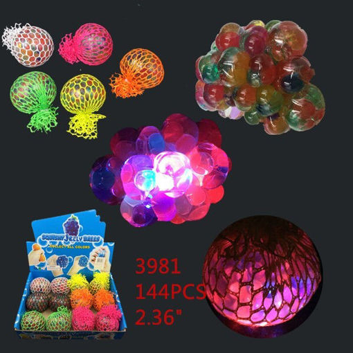 Picture of Light-Up Squishy-Orbit Ball 12 dz