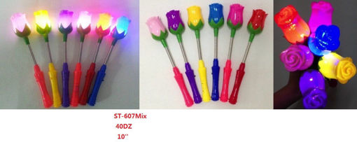 Picture of Flower Light Up Mix Colors 40 dz