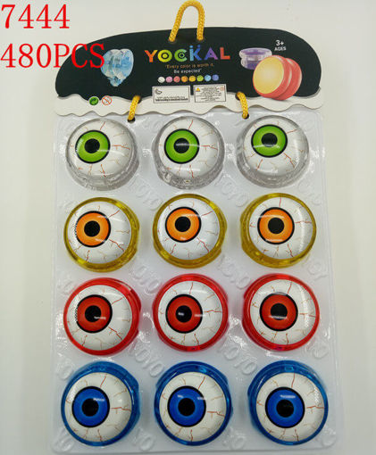 Picture of Eye Ball Flashing Yoyo in Pack 40 dz