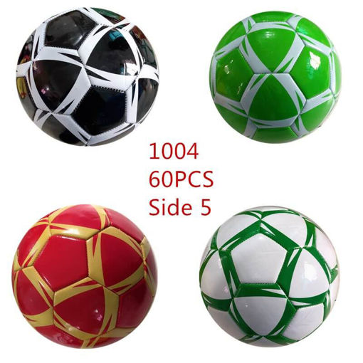 Picture of Assorted Color Triangle Pattern Soccer 60 pc (#1004)