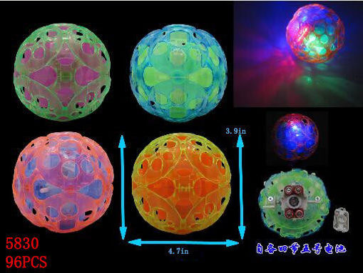 Picture of Flashing Musical Dancing Ball 96 pc