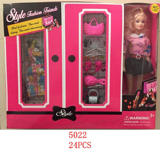 Picture of Style-Fashion Friend Doll 24 pc