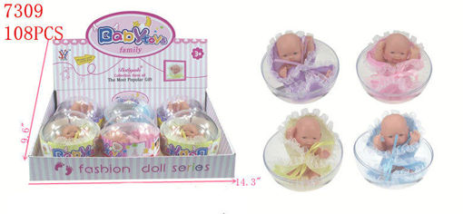 Picture of Baby-Doll w/Tub 108 pc