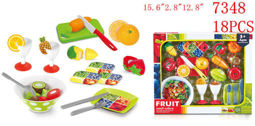 Picture of Fruit Play Set 18 pc