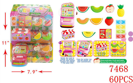 Picture of Fruit Shop Play Set 60 pcs