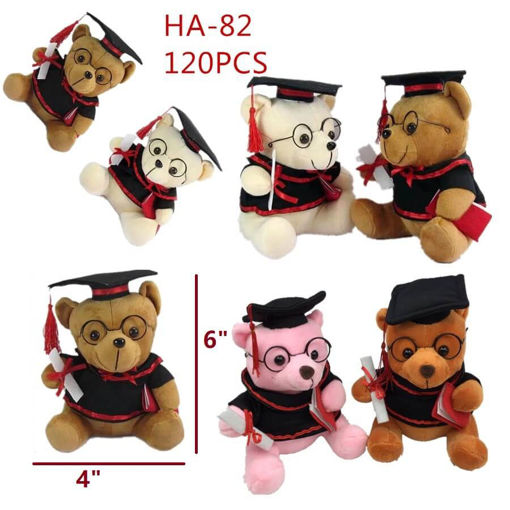 Picture of Graduation 15 CM Teddy Bear 120 pcs