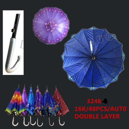 "Picture of Double Lady Umbrella Automatic 24"" 48 pc"