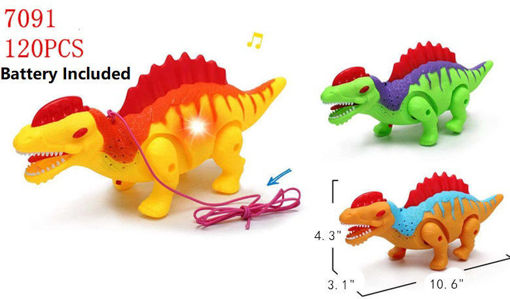 Picture of B/O Walking Dino w/ Leash 120 pcs