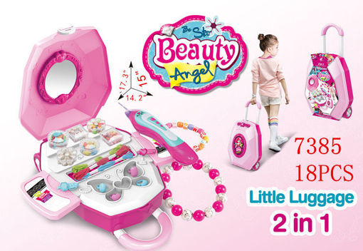 Picture of Little Luggage Beauty Set 18