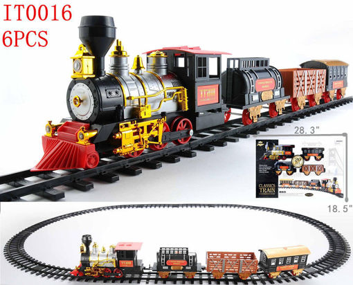 Picture of Classic train with track 6 pcs