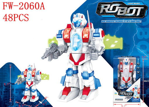 Picture of B/O Robot w/Light & Music 48 pcs