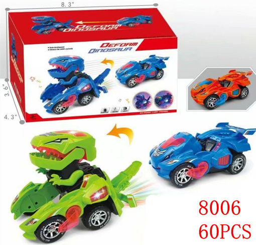 Picture of B/O Deforming Dinosaur Car 60 pcs