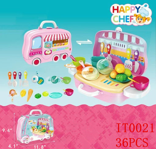 Picture of Happy Chef Playset 36 pcs