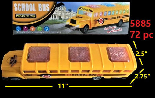 Picture of Flashing School Bus w/Sound 72 pc