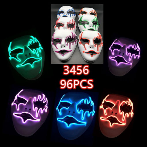 Picture of Horror Flashing Mask 96 pc