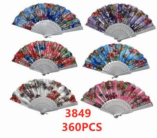 Picture of Floral Lady Fan 30dz