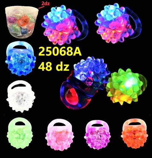Picture of Flashing Soft Berry Ring 48 dz