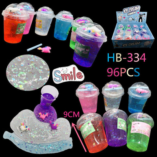 Picture of Unicorn Slime in Cups 8 dz