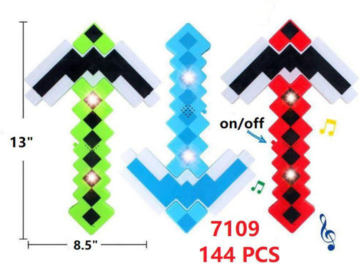 Picture of 3D Square Flashing Wand 144 pc (#7109)